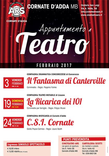 Appuntamento a Teatro 2017